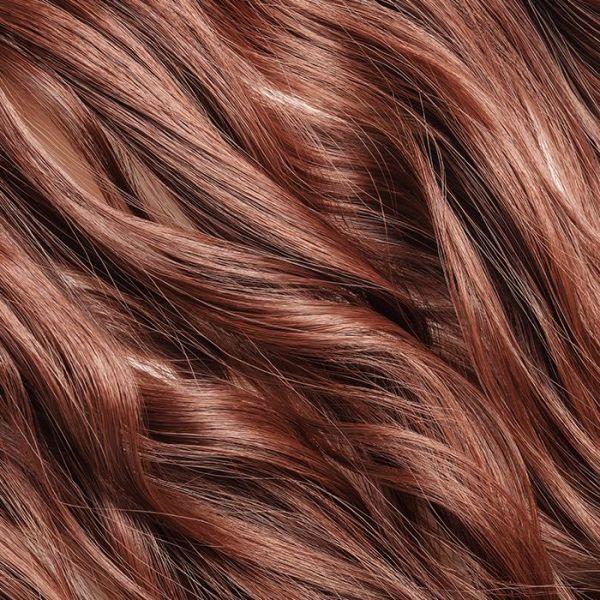 "Auburn Stick Tip Hair Extensions 18"""