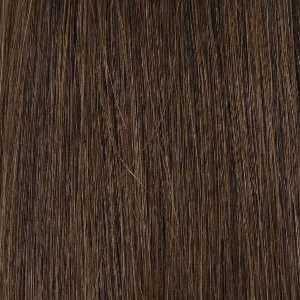 Chestnut Brown Nano Tip Hair Extensions