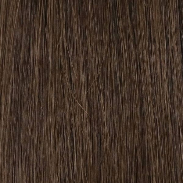 Chestnut Brown Clip-In Hair Extensions