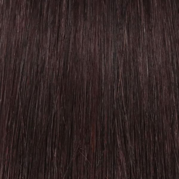 Cranberry Nano Tip Hair Extensions