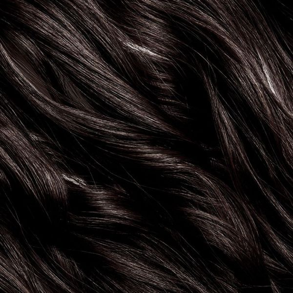 "Ebony Clip-In Hair Extensions 18"" 100g"