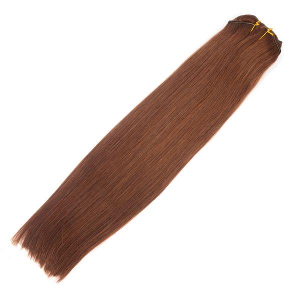 "Auburn Clip-In Hair Extensions 18"" 100g"