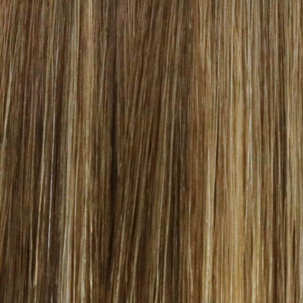 Mocha Fuse Nano Tip Hair Extensions