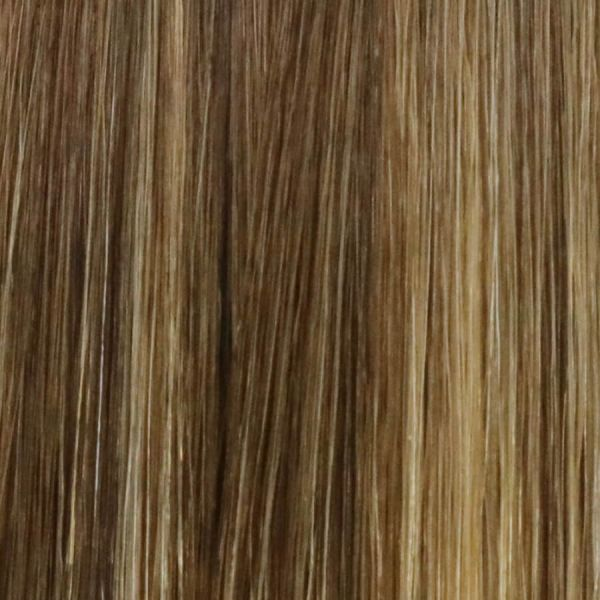 Mocha Fuse Stick Tip Hair Extensions