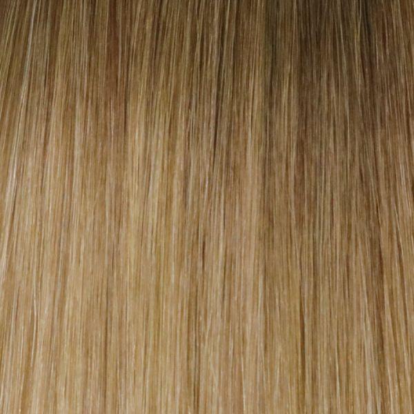Pecan Melt Stick Tip Hair Extensions