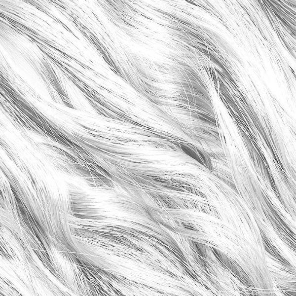 "Platinum Blonde Stick Tip Hair Extensions 18"""