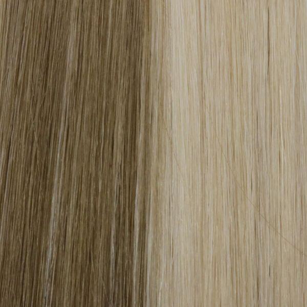Vanilla Oat Weft Hair Extensions